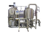 Aço inoxidável sanitário depósito de mistura com camisa de aquecimento a vapor