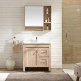 Neuer Entwurf 2017 mit Qualitätswarrantee-Möbel-Furnierholz-Badezimmer-Schränken