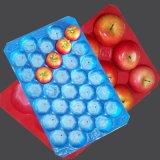 Pp.-Haustier-Plastikwegwerfobst- und gemüseBildschirmanzeige-verpackentellersegmente in den Supermärkten