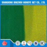 Rede de segurança da construção da rede de segurança do andaime do verde do engranzamento do HDPE