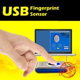 USB를 가진 Dpi 512의 화소 생물측정학 접근 제한 지문 스캐너