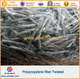 Cement를 위한 높은 Tensile Twisted Bundle PP Fibre