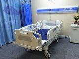 Zentral-Esteuertes Bremssystem-manuelles Krankenhaus-Bett für Verkauf (AG-BYS115)