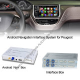 Peugeotのための人間の特徴をもつNavigation Interface Box、Ds、シトロエンUpgrade Touch Android Systemのインターネット、Games、Googl Map