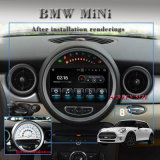 BMWの小型自動ステレオGPS運行3Gインターネット車のビデオのための車のアンドロイド7.1