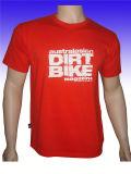 T-shirt respirable d'hommes imprimé par lettre en gros