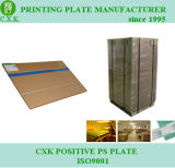 China CXK Desplazamiento Positivo PS Plate