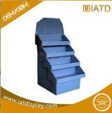 Surgir el estante del almacenaje del azulejo del almacén del soporte de visualización de la venta al por menor del suelo de la cartulina