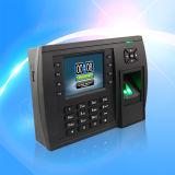 無線コミュニケーション(TFT500)を用いる指紋の時間出席