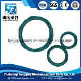 Selo pneumático hidráulico de borracha do anel PTFE do selo