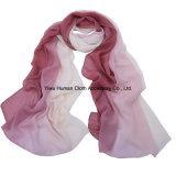 Frauen arbeiten großen Schal-Steigung-Farben-Polyester-Schal 100% um
