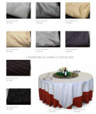 100% Microfiber Hotel Restaurant Jacquard Table Cloth