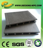 Preiswerter hölzerner zusammengesetzter Decking-/Bodenbelag-Plastikvorstand