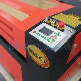 Le double dirige la gravure de laser et le prix de machine de découpage