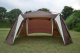De onmiddellijke Grote Tent van de Schuilplaats van de Zon van de Koepel van de Groep voor het Openlucht Kamperen van de Familie van de Personen van de Partij 8+