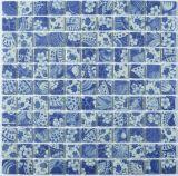 Плитка мозаики плавательного бассеина ванной комнаты керамическая стеклянная