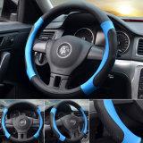 """マッサージ車のハンドルカバーMicrofiberの革ユニバーサルステアリング車輪は38のCm/15 """"自動ハンドルバーのブレードの熱い車輪を覆う"""