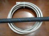 Un16 un acero de 16 -16 de nylon trenzado de aceite de transmisión de la línea de manguera de gas combustible