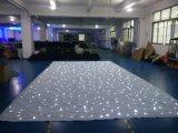 LEIDEN van de Achtergrond van de Decoratie van het Huwelijk van 4X6m Wit Door sterren verlicht Gordijn voor de Gebeurtenis van de Partij
