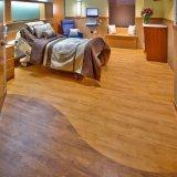 5mm hölzerner Oberflächenvinylbodenbelag für Schlafzimmer