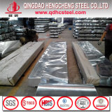 Из гофрированного картона с полимерным покрытием Gi стальной лист из Китая мельницей