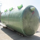 汚水処理のガラス繊維によって使用される水平の腐敗性タンク