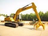 Excavadores de la correa eslabonada de China para el gancho agarrador hidráulico de /Plum de la máquina Catching del metal
