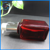 Eigenmarken-Plastikhaustier-kosmetische verpackende quadratische Lotion-Flasche