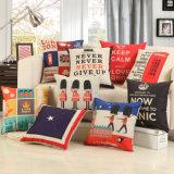 正方形のホームソファーの投球の印刷される装飾的な枕箱のクッションカバーデジタル