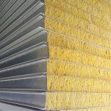 Les matériaux de construction sandwich en laine de verre ignifuge panneau mural de toit
