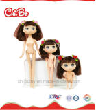 Reizendes Kind-Qualitäts-Spielzeug-Rosa-Plastikpuppen, recht