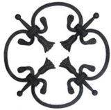 Garderの装飾装飾用の部品は鋼鉄葉を造った