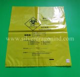Biohazard autoklavierbarer Beutel, Biohazard Probenmaterial-Beutel für Krankenhaus-Abfall