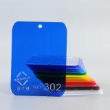 Lo strato blu trasparente del plexiglass di colore/ha lanciato lo strato acrilico 1.8-30mm