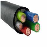 Résistant au feu 4 Noyau 10mm 120 mm2 150mm 240mm 300mm2 en cuivre PVC Câble blindé