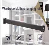 Le matériel des accessoires de montage de meubles armoire tube/tuyau de l'alliage en aluminium