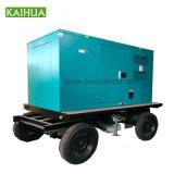 100~200kw Diesel van de aanhangwagen de Geluiddichte Generator van de Macht voor Verkoop