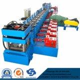 Material de Construção construção Delta PLC inversor e auto-estrada paralela de corrimão de metal PLC máquina de formação de rolos de folhas