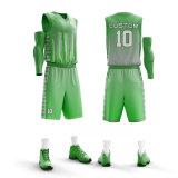 La dernière maillots de basket-ball balle colorée Combinaisons Costumes adapté pour l'été