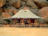 大きい部屋が付いている贅沢な旅行テントのホテルのサファリのテント