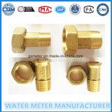 Pièces en laiton de mètre d'Acticity de l'eau des connecteurs Dn15/20
