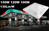 130lm/W LED 휘발유 역 빛 120W LED 닫집 램프가 높은 루멘 LED 주유소 닫집에 의하여 점화한다
