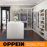 Шкаф PVC американского типа Oppein белый Walk-in (YG16-PVC01)
