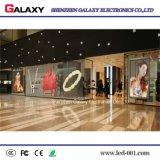 Écran/panneau/signe/mur polychromes transparents/en verre/guichet DEL affichage vidéo