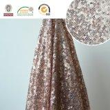 Полиэфир Fabric136 сбывания нового способа вышивки ткани Sequin горячий