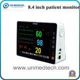 Monitor paciente tamaño pequeño de seis parámetros con la opción española