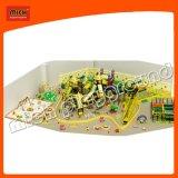 De binnen Zachte Plastic Bal van het Speelgoed met het Bed 6622b van de Trampoline