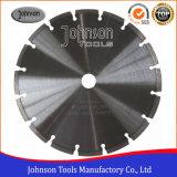 230 mm soldadas con láser hoja de sierra para el corte de granito