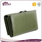 Бумажник с напечатанной бабочкой, кожаный бумажник высокого качества портмона женщин, длинний бумажник