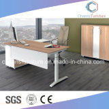 Table de bureau de mode Metal Frame Manager avec cabine arrière